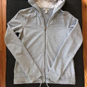 Burberry Fitted Hooded Sweatshirt